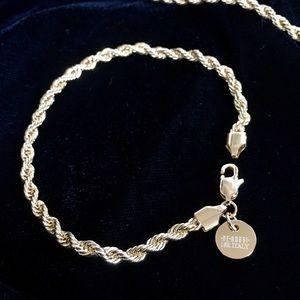 Jewelry - ITALIAN ROPE BRACELET 18K GOLD NEW MADE IN ITALY